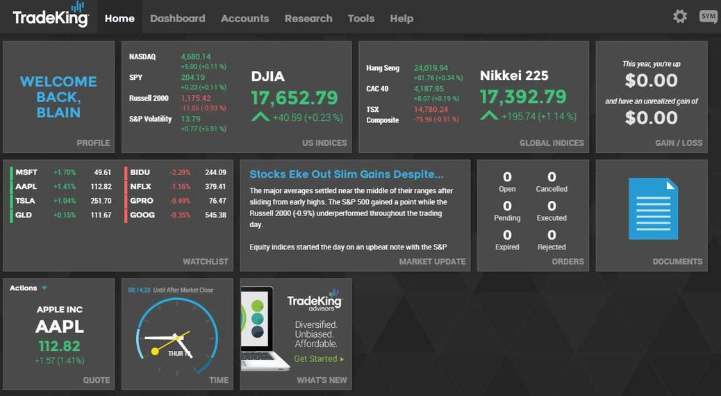Tradeking options probability calculator